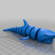 Download free STL file Articulated Shark • 3D print object, mcgybeer
