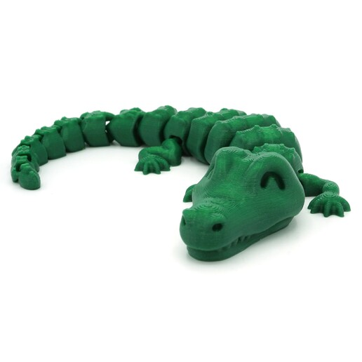 DSC01290 copia.jpg Download STL file Articulated Alligator • 3D printing object, mcgybeer