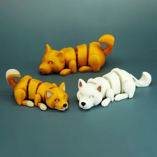 DSC01644 copia.jpg Download STL file Lazy Dogs • 3D print design, mcgybeer