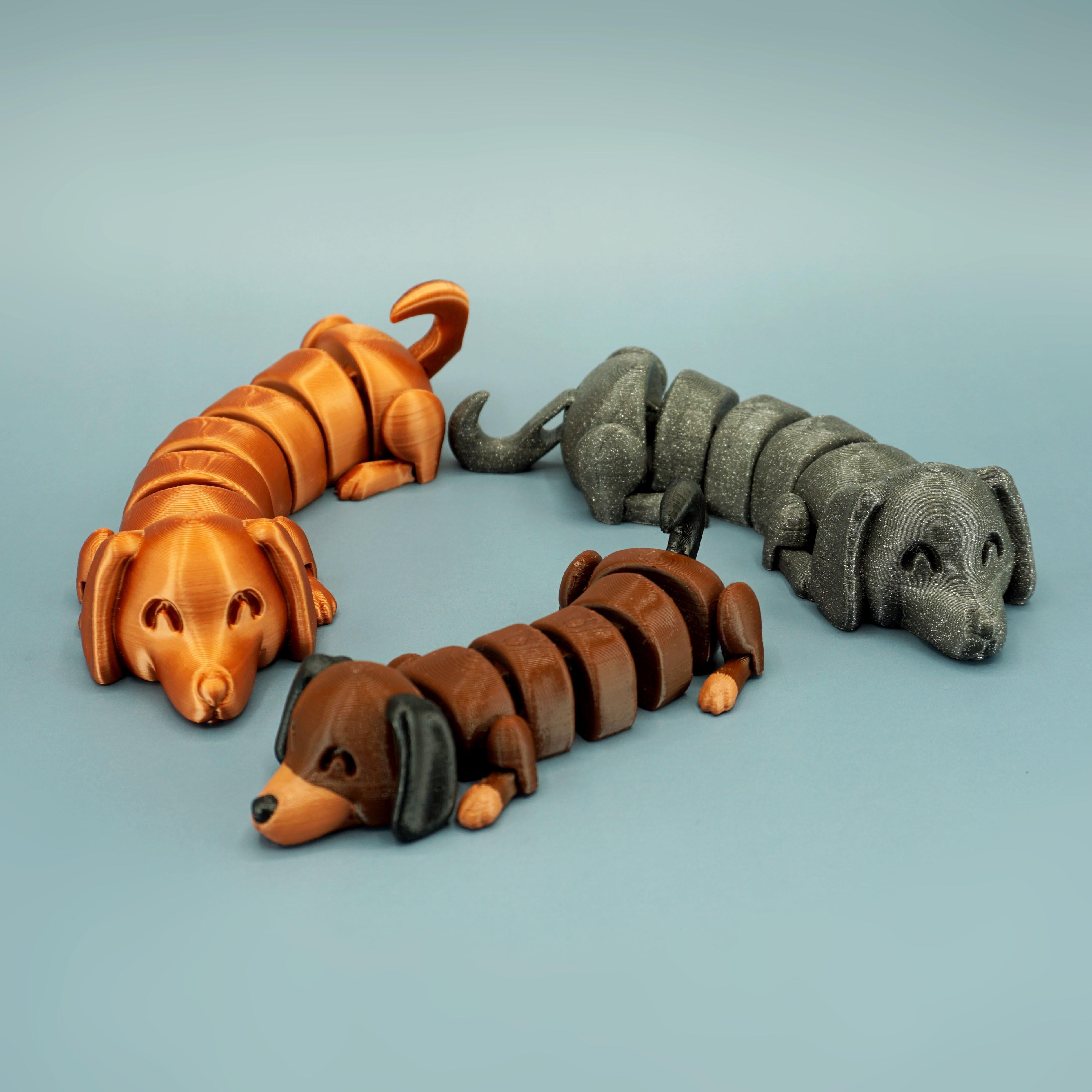 DSC01647 copia.jpg Download STL file Lazy Dogs • 3D print design, mcgybeer