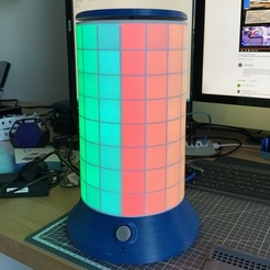 Télécharger plan imprimante 3D gatuit La Lampe Pixel Animée, yceoshda