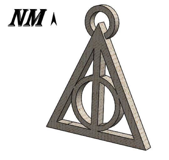 Anotación 2019-11-21 110248.png Télécharger fichier STL LA CLEF DES RELATIONS DE LA MORT - HARRY POTTER - Harry Potter • Objet imprimable en 3D, NicolasMonti