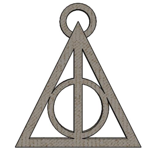 Anotación 2019-11-11 205039.png Télécharger fichier STL LA CLEF DES RELATIONS DE LA MORT - HARRY POTTER - Harry Potter • Objet imprimable en 3D, NicolasMonti