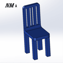 Download free 3D printing templates CHAIR - CHAIR DECORATION - CHAIR 3D, NicolasMonti