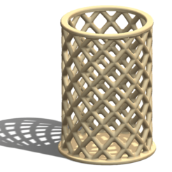 Download free 3D printer designs Pencil Holder, saraguo000