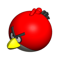 Download free 3D print files Angry Bird, saraguo000