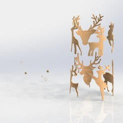Download STL file Deers • Object to 3D print, saraguo000