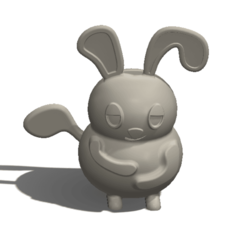 Download free 3D printing models Fat Rat, saraguo000