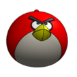 Download free STL file Angry Bird • 3D print template, saraguo000
