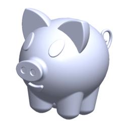 Download free 3D printer designs Piggie, saraguo000