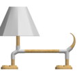 Download free 3D printer model Puppy Lamp, saraguo000
