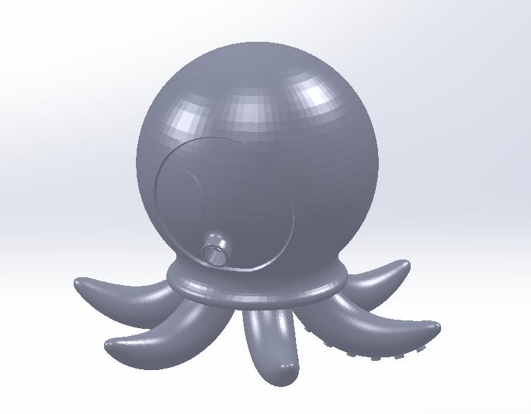 Octopus.png Télécharger fichier STL gratuit Poulpe • Design pour imprimante 3D, saraguo000