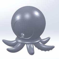Download free 3D printer designs Octopus, saraguo000