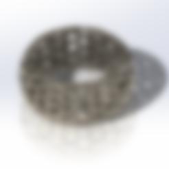 Télécharger fichier STL gratuit Bracelet à motif nid d'abeille, saraguo000