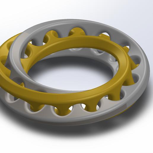 Download free STL file Interlocked  • 3D printing template, saraguo000