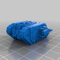 Descargar archivo 3D gratis El pequeño gran tanque de lujo APC, woddish