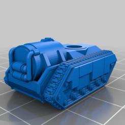 Impresiones 3D gratis Apoyo de Infantería de Tanques Pequeños, woddish
