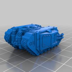 epiclandraidermk2b.png Download free STL file Tiny Bigger Tank Awkward APC • 3D printer template, woddish