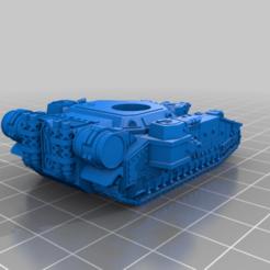 Imprimir en 3D gratis Pequeño Gran Tanque MBT, woddish