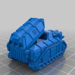 Descargar Modelos 3D para imprimir gratis Artillería de tanque pequeño y más grande, woddish