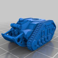 Descargar modelos 3D gratis Pequeño tanque MBT, woddish