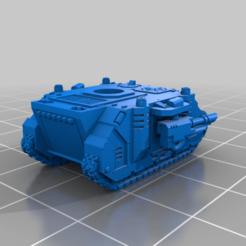 Impresiones 3D gratis Pequeño tanque de lujo MBT, woddish