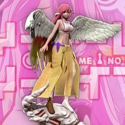 Download 3D printing files No Game No Life - Jibril 3d print figurine, pako000