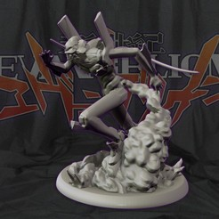 cover1.jpg Download STL file Eva unit 01 - Neon Genesis Evangelion - 3d print statue  • 3D printer template, pako000