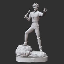 wip1.jpg Download STL file nanatsu no taizai - seven deadly sins - ban statue / figure the sin of pride • Model to 3D print, pako000