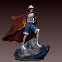 Download 3D print files monkey d. luffy/ruffy, pako000
