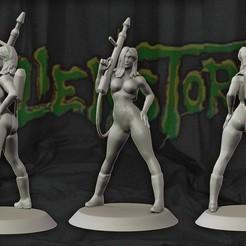 Descargar modelos 3D para imprimir Karla Sega Alien Storm juego 3d figura de impresión, pako000