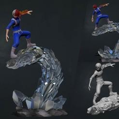 cover1.jpg Download STL file todoroki - my hero academia - mha 3d print statue • 3D printable object, pako000