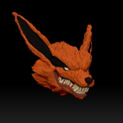 Impresiones 3D cabeza / busto kurama - naruto shippuden, pako000