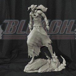 cover.jpg Download STL file Vasto lorde Ichigo Kurosaki - Bleach 3d print Statue • Design to 3D print, pako000