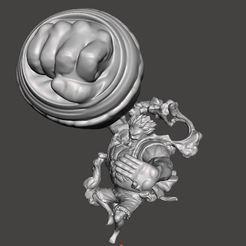 Imprimir en 3D engranaje 4 luffy - sólo luffy no diorama, pako000