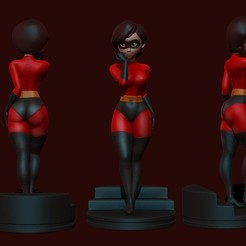 Download 3D model elastigirl - helen parr - the incredibles - 3d print figurine, pako000