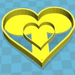 Sin título.jpg Download STL file Heart cutter • 3D print object, fedeluy