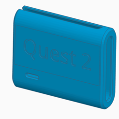 Front.png Download STL file Anker 13000 Pack Holder for Oculus Quest 2 • 3D printer object, dannyboyc87