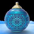 Descargar modelo 3D Bola de Navidad - Deluxe Hymne Glacial, stratation