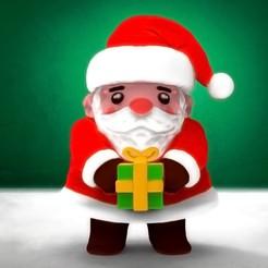 Descargar archivos STL Decoración Navideña - Santa Claus Mignon, stratation