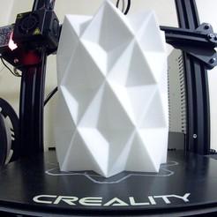 Télécharger fichier 3D Vase - Diamant, stratation