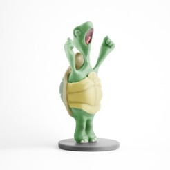 TURTLE.jpg Download free STL file Sleepy turtle  • 3D printing model, victor-dumont