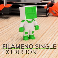 Download free 3D printing files Filameno Single Extrusion, Impresoras3dcom