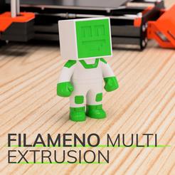 Descargar STL gratis Filameno Multi Extrusion, Impresoras3dcom