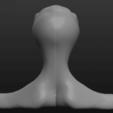 Download free 3D printer templates Alien Bust, ElPerro