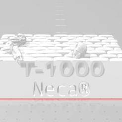 Download free 3D printer designs T1000 Neca plattform, ElPerro