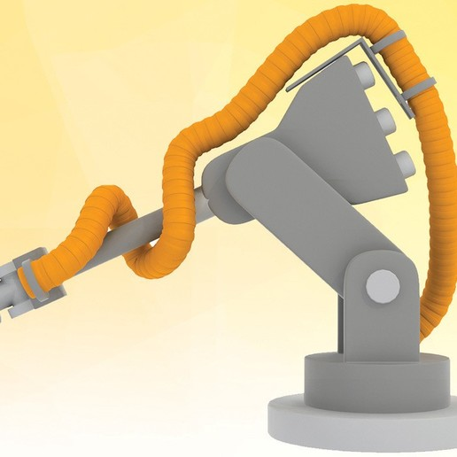 Cable chain.jpg Download STL file TriAxis cable/hose/pipe chain guide • 3D printable model, ScaleToReal