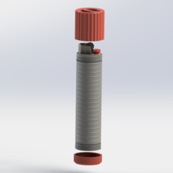 Preview2.PNG Download STL file Waterproof fire starter • Model to 3D print, ScaleToReal