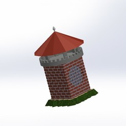 Download STL file Tower housing speaker, ScaleToReal