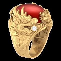 Download 3D printer designs 101 AMANA DRAGON RING, CreatorWorld